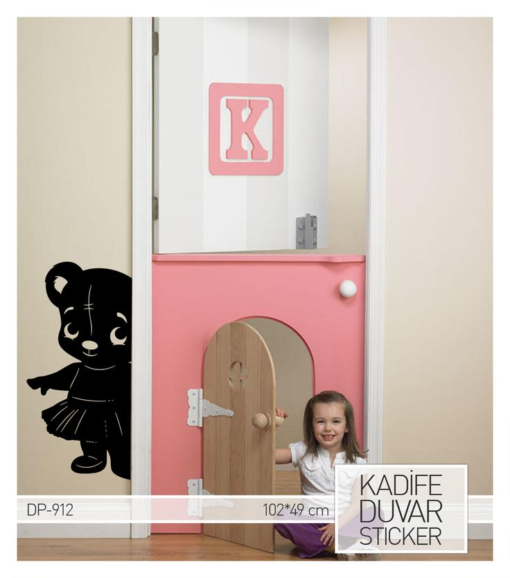 Eğlenceli ve şirin ayıcık sticker.. İster çocuk odasının kapısında ister çocuk odanızın duvarlarını süslesin.. Ürüne ulaşabileceğiniz adres:     http://www.artikeldeko.com.tr/dp-912-kadife-duvar-sticker-49x102-cm-10901  #dekor #dekoratif #dekorasyon #sticker #duvarsticker #artikeldeko #çocukodası #çocuk #bebek #bebekodası #evdekorasyonu #dekorasyonfikirleri #dekorasyonönerileri