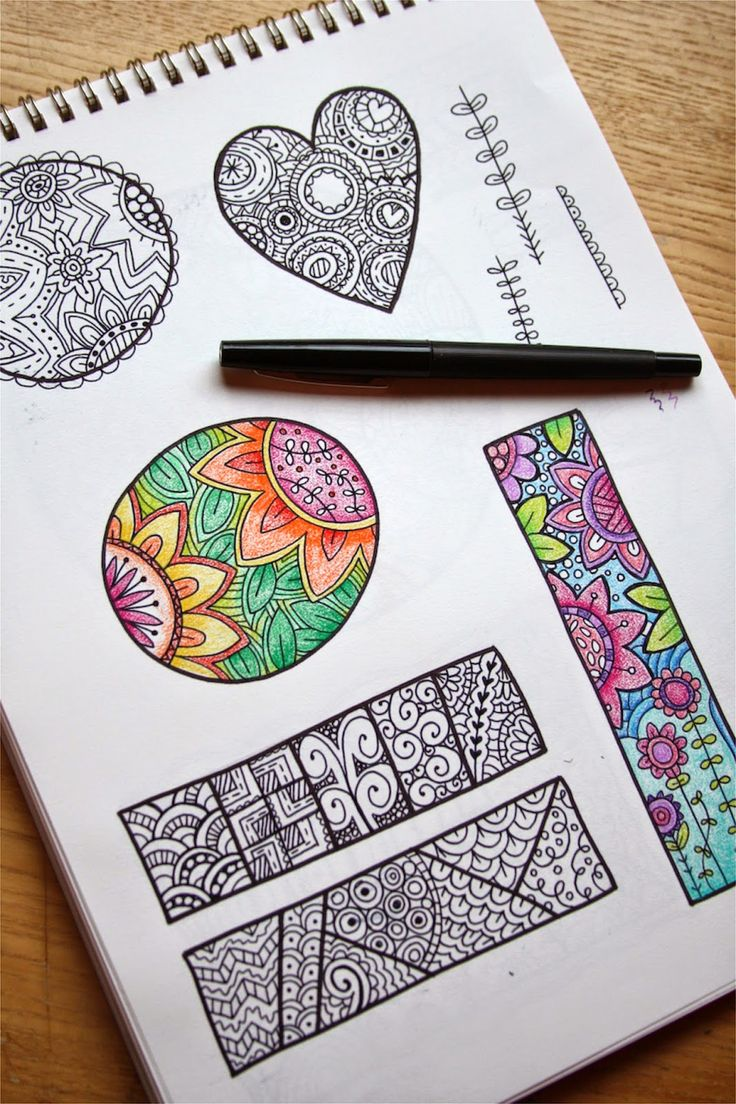Zentangle from spotgirl hotcakes