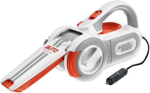 Black & Decker PAV1200W 12-Volt Cyclonic-Action Automotive Pivoting-Nose Handheld Vacuum Cleaner List Price: $56.00 Sale Price:$29.99