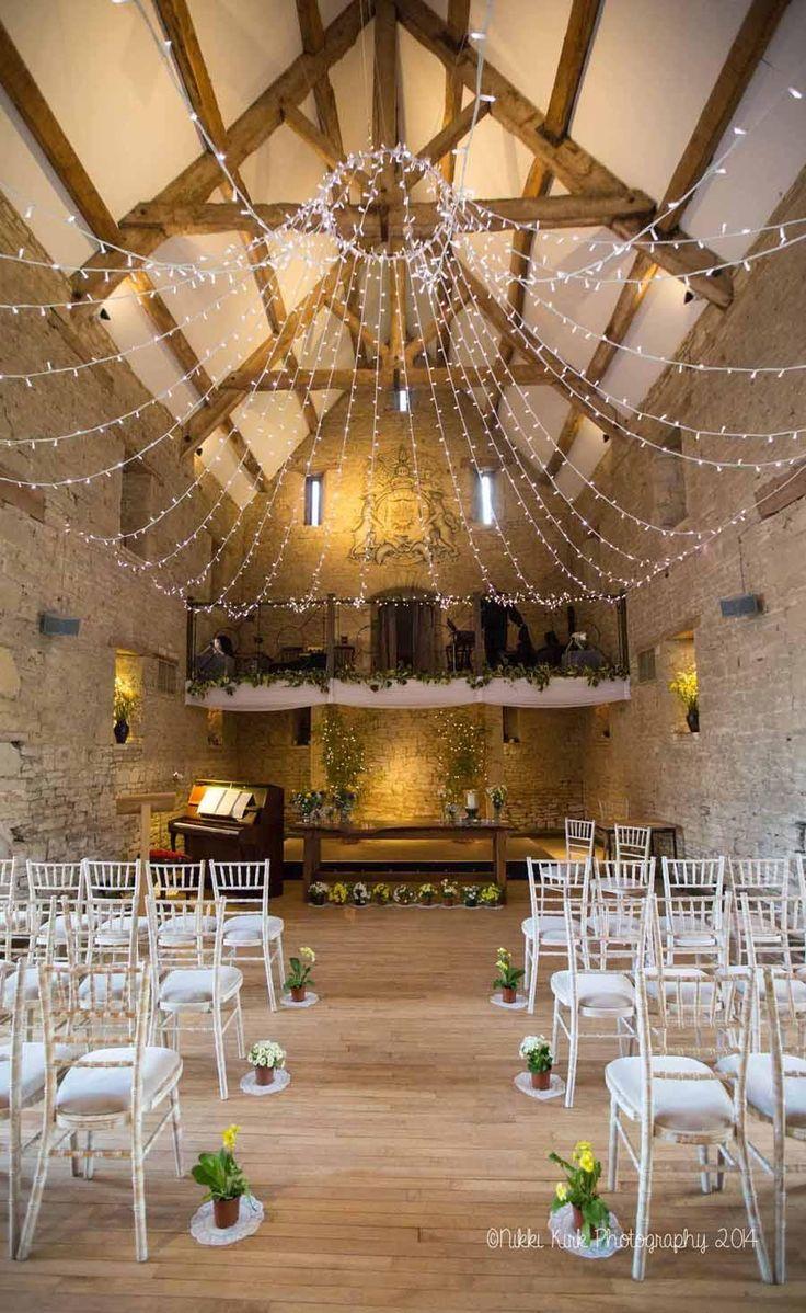 Hannah & Jason marry at the Great Tythe Barn, Tetbury... | Nikki Kirk…