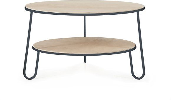 Table basse gris ardoise Eugénie - Hartô