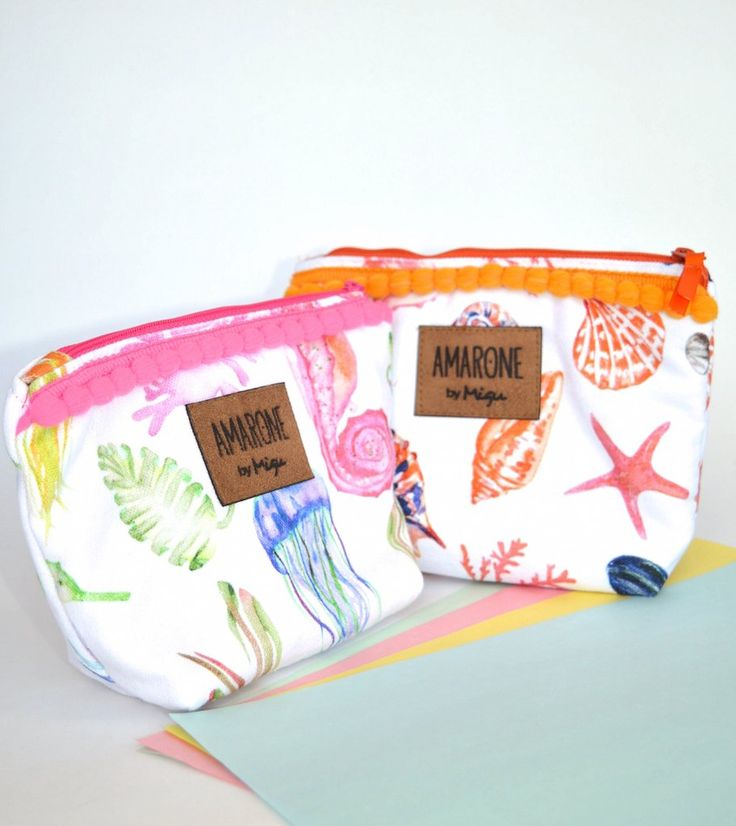 Makeup bag-Under the sea-Amarone