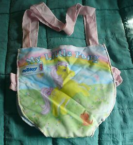 VINTAGE MY LITTLE PONY Quite Rare Pony Carrier Made In Britain By Telitoy