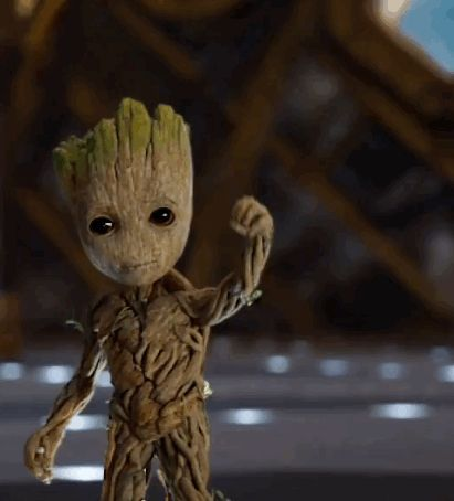 New party member! Tags: marvel guardians of the galaxy baby groot guardians of the galaxy 2 guardians of the galaxy vol 2