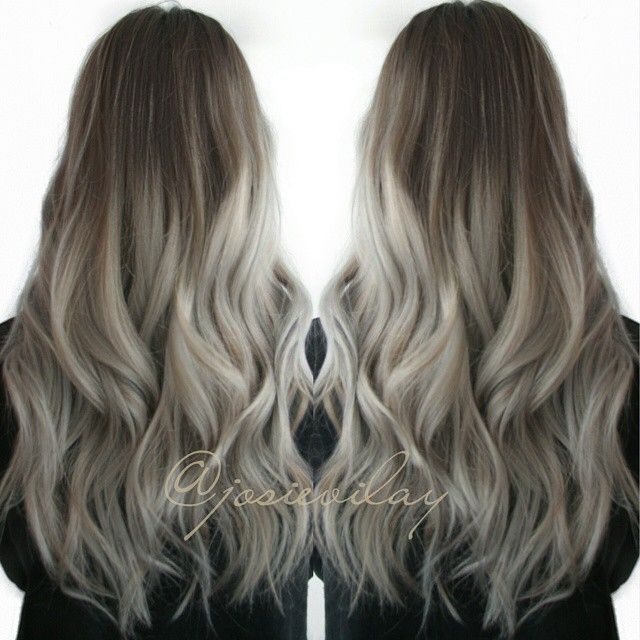 Amazing Grey/Silver Hair by Josie Vilayvanh - Hair Colors Ideas