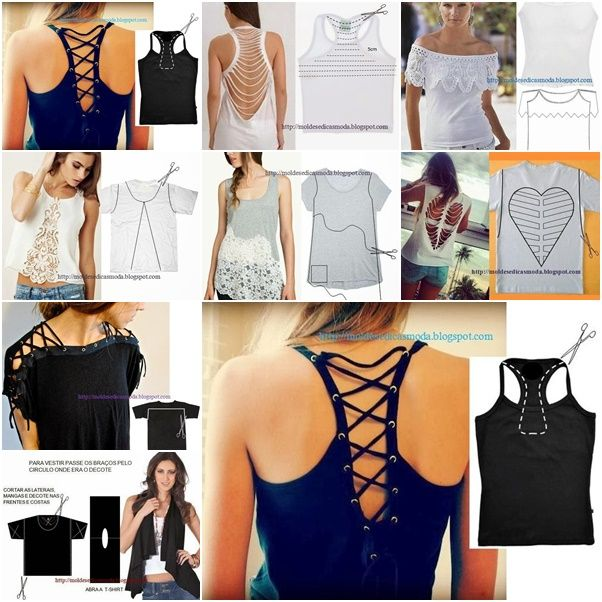 11 Wonderful Ideas to Refashion Your Shirts ! ENJOY ! :) http://wonderfuldiy.com/11-wonderful-ideas-to-refashion-your-shirts/