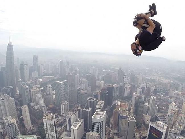 'Fly free': Tributes for a BASE jumper who fell to his death.