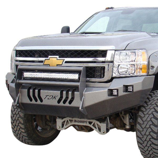 Throttle Down Kustoms Full Width Front Hd Bumper With Hoop Chevy Silverado Truck Bumpers Chevy Silverado 2500