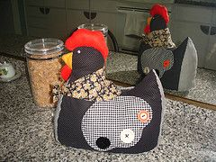 FELTRO MOLDES ARTESANATO EM GERAL: GALINHA DE PANO MOLDES: Patchwork, In General, Chicken Chick, Door, Chicken Cosy, Moldes Chicken, Crafts