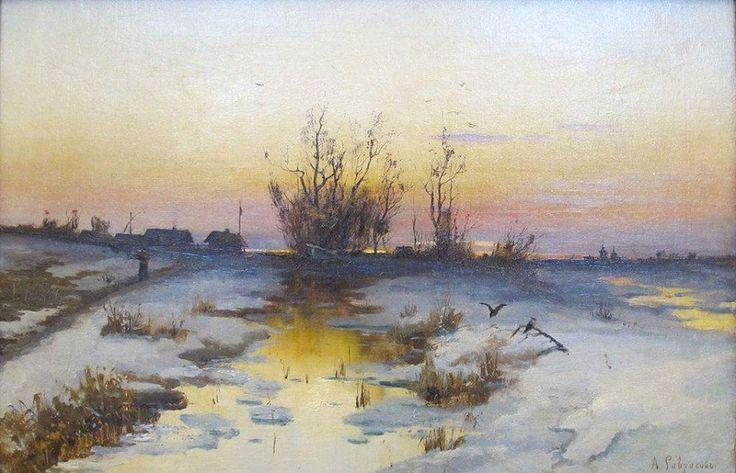 САВРАСОВ, Алексей Кондратьевич (1830 - 1897)/Три редких Саврасова/24232623_1793325354302679_3898823436580223250_n.jpg