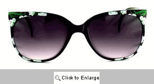 Ka-Bloom Vintage Sunglasses - 257 Black