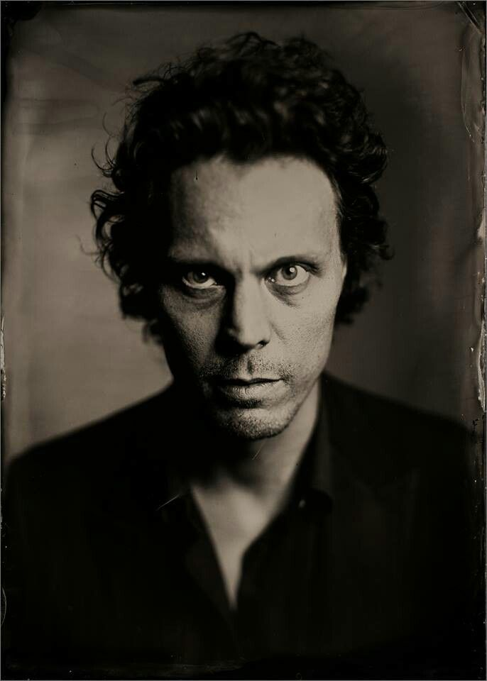 Ville' It was truly an honor to meet Ville Valo and take this wet plate…