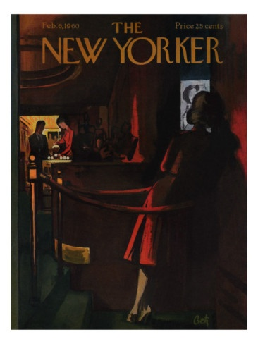The New Yorker Cover - February 6, 1960 Premium Giclee Print.