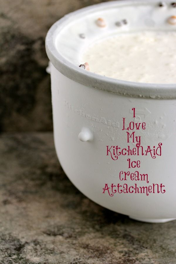 KitchenAid Ice Cream Attachment | Cravings of a Lunatic | Review and Recipe for KitchenAid's Ice Cream Attachment