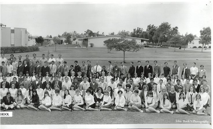 Right hand side of photo Class of 1969 Westminster High School