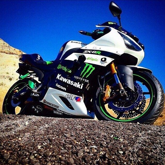 Kawasaki Ninja Zxr Color Options