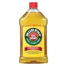 Murphy's Oil Soap. I mix this in a spray bottle with water for an all natura