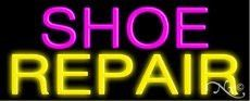 Shoe Repair Handcrafted Real GlassTube Neon Sign