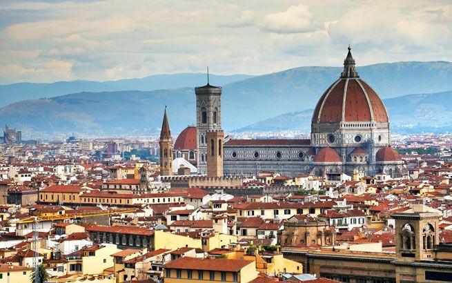 Panorama von Florenz mit der Kathedrale Santa Maria del Fiore