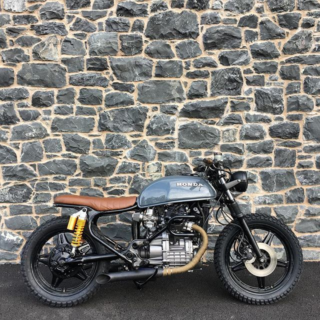 Is a project ever really finished? #honda #cx500 #scrambler #tracker #dgr2016 #gentlemansride #streettracker #caferacerxxx #croig #vtwin #sautafter