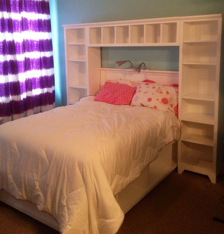 Do It Yourself Home Design: Complete Full Sized Hailey Bed And Storage System