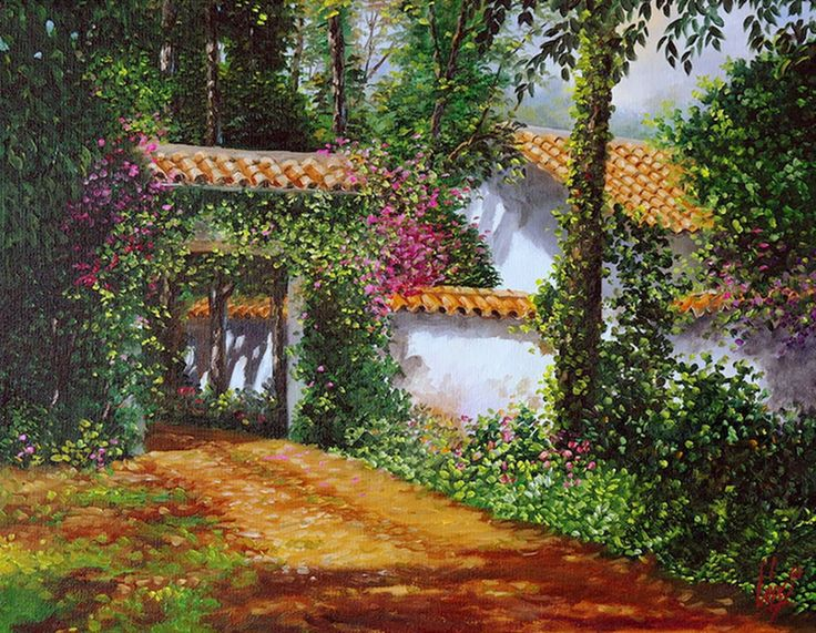 cuadros-de-paisajes-colombianos http://www.pinterest.com/polinasika/my-dream-s-world/