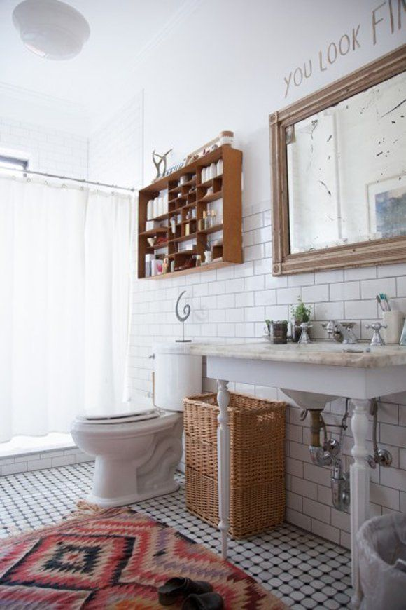 No More Matchy Matchy Bathroom Decor: Unexpected Looks
