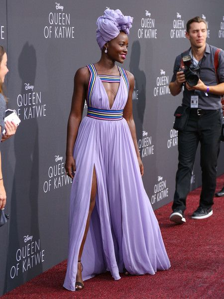 Lupita Nyong'o Photos Photos - Lupita Nyong'o is seen arriving at the premiere of Disney's 'Queen Of Katwe' at the El Capitan Theatre. - Premiere of Disney's 'Queen of Katwe' at The El Capitan Theatre