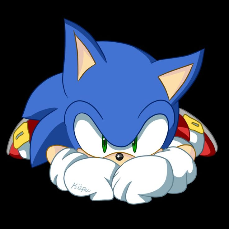 Sonic the Hedgehog → Sonic: they will never see me coming!  Me: OMG so cute!! >0< *dies*    Sonic: *sweatdrops*