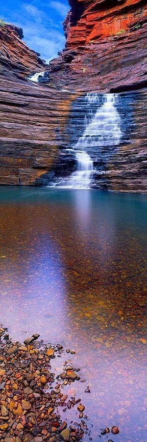 Joffrey Gorge, Karijini National Park, Australia by Christian Fletcher. by RoadBod