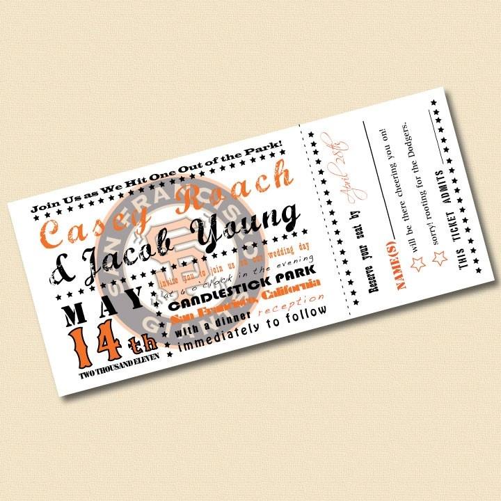 15 best Invitations images on Pinterest Wedding stuff, Baseball - invitations that look like concert tickets