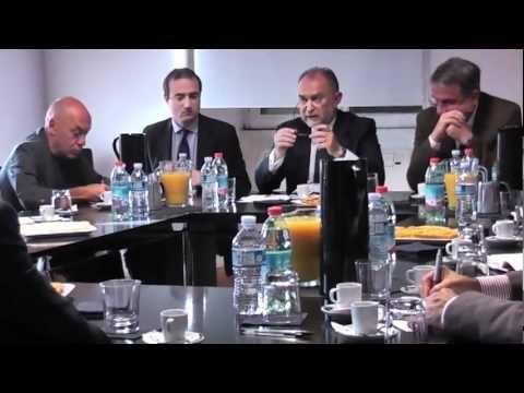 """Senatore Antonio d'Alì - Intervista Reti: """"Un caffé con il Senatore Antonio D'Alì"""".  Video estratto da un programma televisivo."""