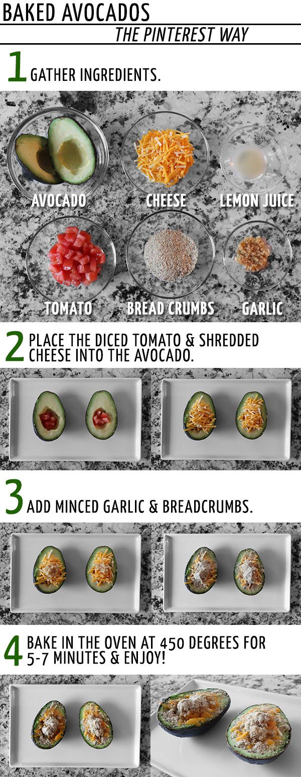 Baked Avocados: The Pinterest Way