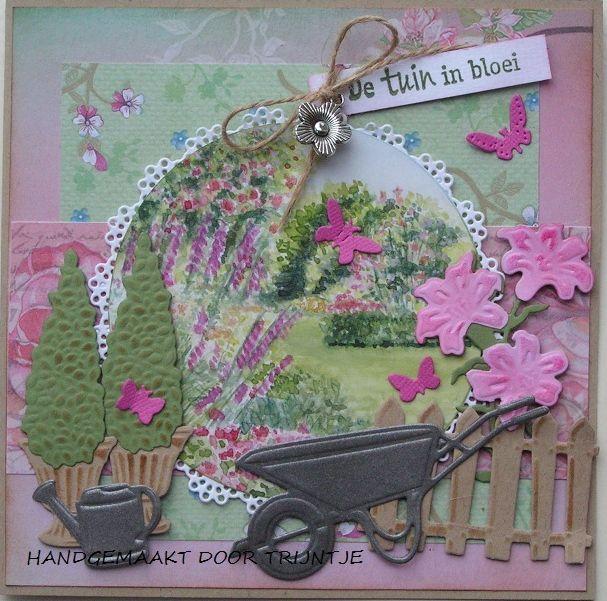 Afbeeldingsresultaat voor voorbeeldkaarten marianne design  met knipvel english garden