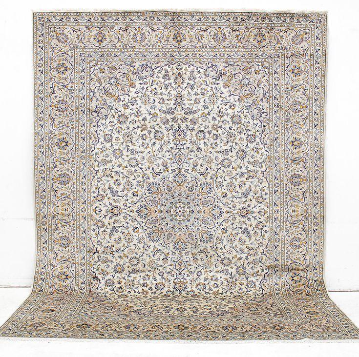 Bilder för 287707. MATTA, Persisk, ljus Keshan, 395 x 295 cm. – Auctionet