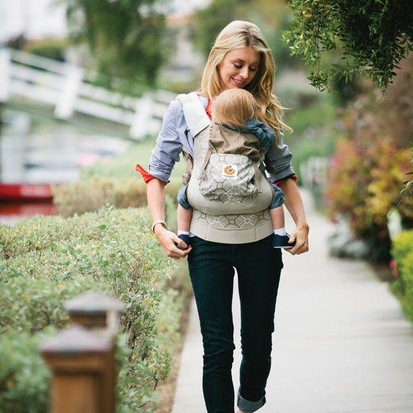 @ergobaby Organic Collection - Marsupio porta-bebè in cotone 100% biologico • Modello: Lattice/Beige #ergobaby #carrier #babywearing