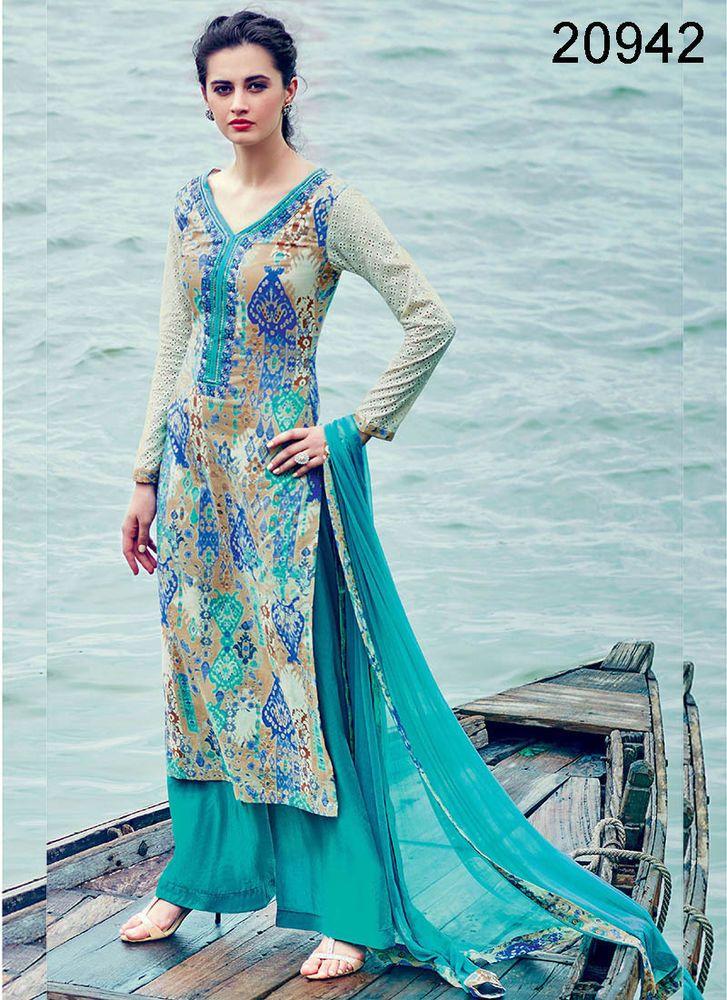 Pakistani Designer Kameez Anarkali New Bollywood Indian Suit Ethnic Dress Salwar #TanishiFashion