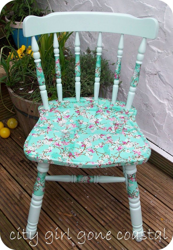 1000+ ideas about Refinished Chairs on Pinterest  Refurbished chairs,  Painting kitchen chairs and Refurbished dining tables