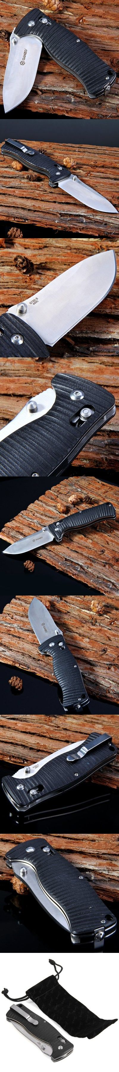 Pocket Knives and Folding Knives | Ganzo G720 Tactical Folding Knife for Home / Outdoor Camping / Hiking / Adventure Activities