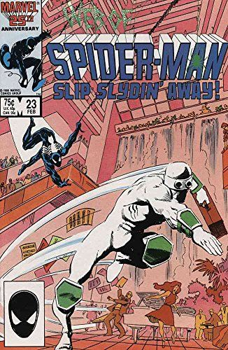 WEB OF SPIDERMAN 23 (2/87) Slyde @ niftywarehouse.com #NiftyWarehouse #Spiderman #Marvel #ComicBooks #TheAvengers #Avengers #Comics