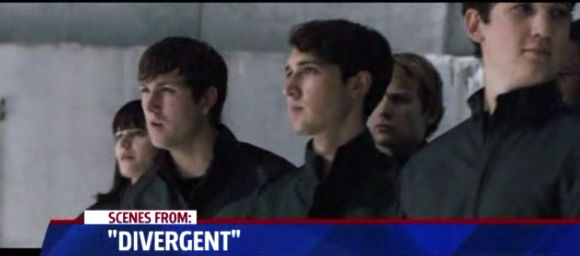 The Initiates... Molly (played by Amy Newbold), Peter (played by Miles Teller)... Most importantly Al (played by Christian Madsen) and Will (played by Ben Lloyd-Hughes). I kind of freaking love Al... Why can't he just come back and play a role in Insurgent  I love him... And I love Christian Madsen