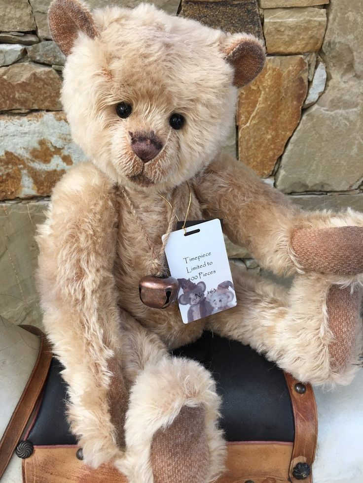 Timepiece Charlie Bears Isabelle Lee Collection Mohair Bear