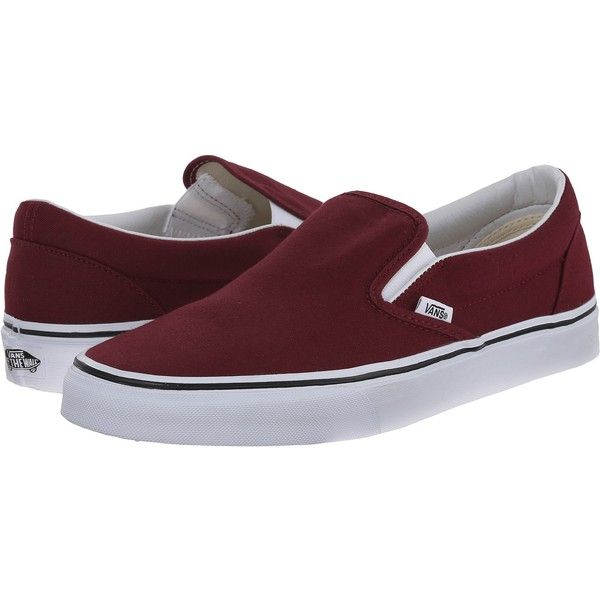 vans mens classic slip-on ca tudor leather brown
