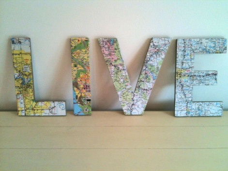 Best Upcycled Maps Images On Pinterest Map Art Projects And - Four old us maps in holder