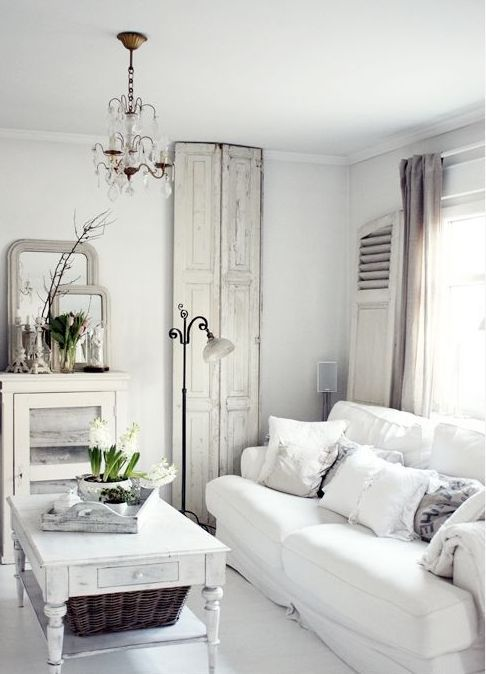 All Shades Of White: 30 Beautiful Living Room Designs | DigsDigs