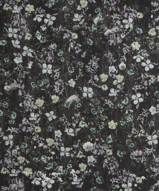 Liberty print Mawston Meadow in black. Rare and gorgeous, I'm thinking a long slightly gothy shirt... Mmmmm
