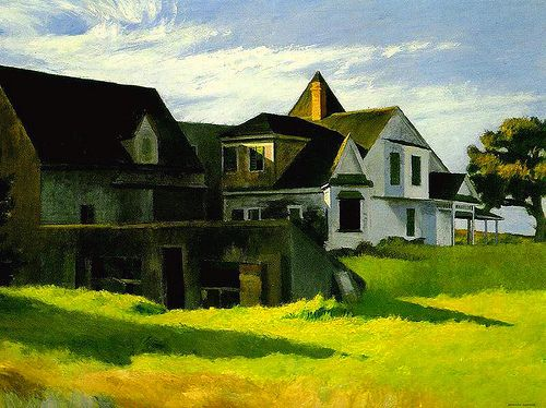 Edward Hopper, Cape Cod Afternoon (1936)