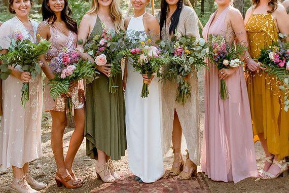 Ethereal Yosemite Wedding at Evergreen Lodge: Lucas + Willa   100 Layer Cake   Bloglovin'