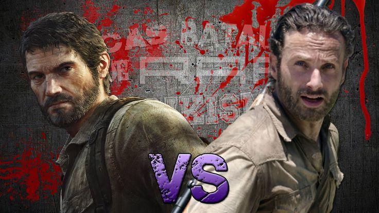 Rick Grimes vs Joel. Épicas Batallas de Rap del Frikismo T2 | Keyblade f...