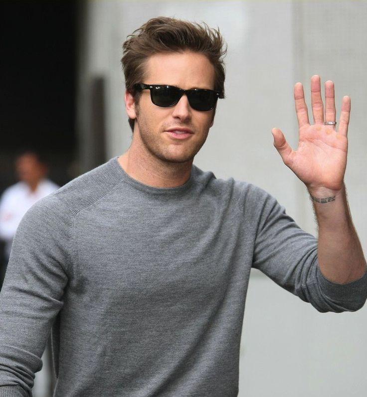 Armie Hammer Wearing Ray-Ban RB2132 NEW WAYFARER Sunglasses in London, England http://pict.com/p/51 | Eye Spy | Pinterest | Sunglasses, London and The o\u0026#39; ...